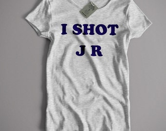 Inspired by Father Ted T Shirt - I Shot JR | An Old Skool Hooligans Classic TV Comedy T Shirt