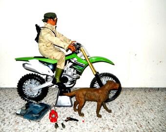 G.I. Joe 12 Inch Classic Doll, gi joe, g i joe, collectible gi joe, action figure, 12 inch action figure, gi joe set, gi joe motorcycle set