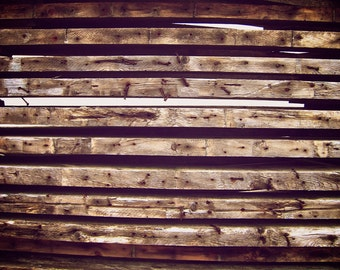 Pallets Piled High Postcard | Used Lumber Postcard | Wood Stationery | Rustic Aged Wood | Blank Card | Lumber Stationery | Wood Grain