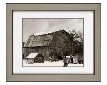 Barn in February