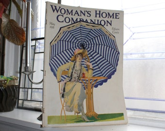 Vintage Woman's Home Companion Magazine May 1918