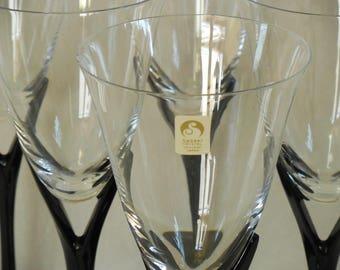 Sasaki Crystal, Capistrano Black Water Goblet