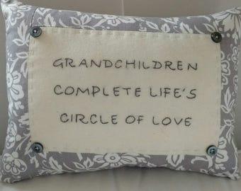 Grandchildren Pillow