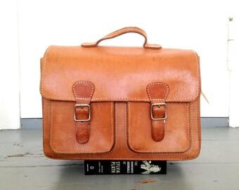 Messenger bag leather backpack leather rucksack leather school bag ALEX