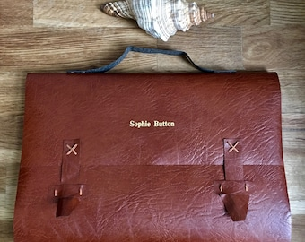 satchel journal - a5 - personalise it!