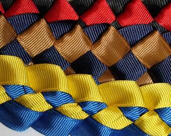 Graduaiton Braided Ribbon Lei or Special Occassions