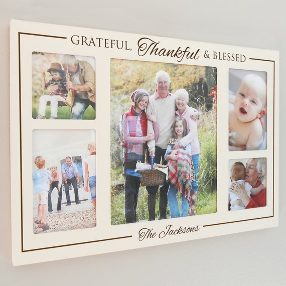 Items Similar To Personalized Grateful Thankful Amp Blessed