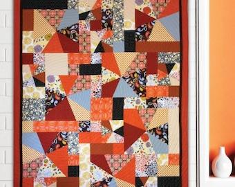 Hunter's Design Studio - Fast Fourteen Quilt Pattern