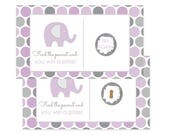 Purple Elephant Scratch Off Game  -- Baby Shower Activity -- Party Game Card  --  Fun & Casual  --  Celebration Goods --  Printed 28pc. Set