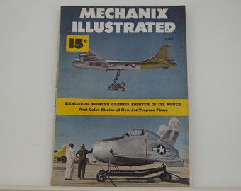 Mechanix Illustrated Magazine, June 1949 - Great Condition, Tips,  Science, Technology, Hundreds of Vintage Ads