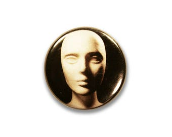 1 Inch Pinback Button Original - Styrofoam Head