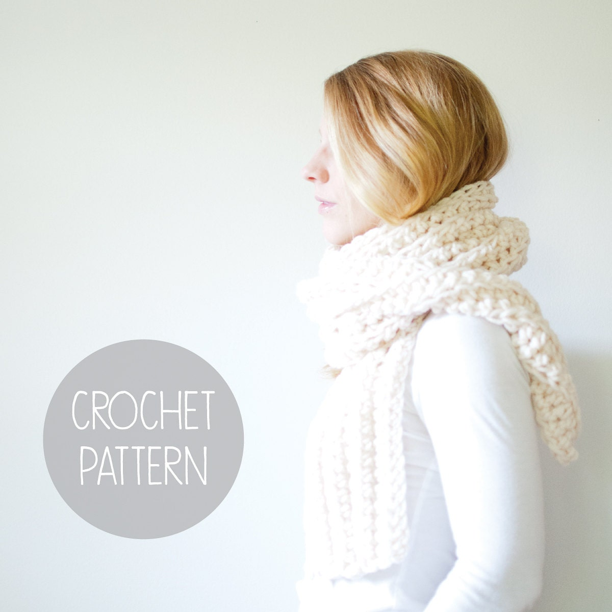 Crochet Free Pattern Promotion Shop For Promotional: Crochet Pattern Open End Scarf Crochet Pattern The Oslo