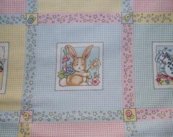 Mary Englebreit Crib Quilt Panel