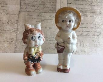 Antique Bisque Dolls Made in Japan,  Frozen Charlotte Dolls, Bisque Penny Dolls