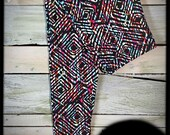 Amazing Print, Buttery Soft, Leggings (Sketchbook) One Size 2-12