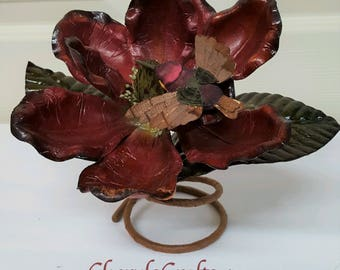 Floral Tablepiece,Rustic Floral Table Decoration,Table Accent