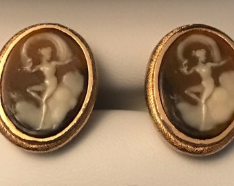 Vintage Extremely Rare Dante Museum Masterpiece Cufflinks Venus On Cloud
