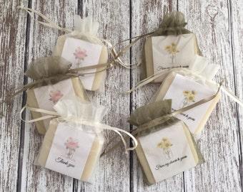 Mason Rustic Jars Bridal Shower Soap Favors