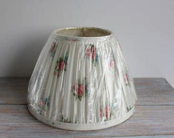 Floral lamp shade- Free Shipping
