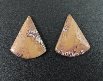 Beautiful sonoran jasper  earrings pair,  Natural stone, Jewelry making supplies S7461