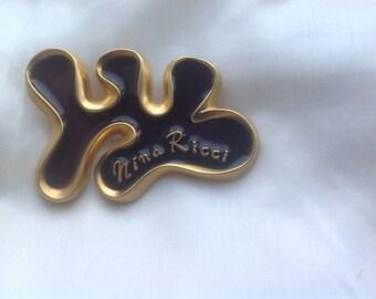 Vintage Nina Ricci brooch