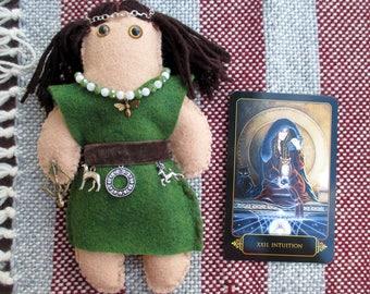 Artemis Poppet - Voodoo Doll, Juju Doll, Spirit Doll, Magic Doll, Goddess Doll