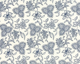 20% Off Sale Lexington in Cream by Minick and Simpson for Moda - One Yard - 14781 12