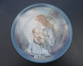 Collector Plate - Germany - Sulamith's Love Song - Der Kries (The Circle) Konigszelt Bavaria - Vintage