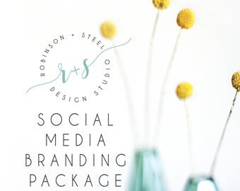 Social Media Package, Social Media Avatar, Social Media Banner, Social Media, Instagram avatar, Facebook avatar, Pinterest avatar