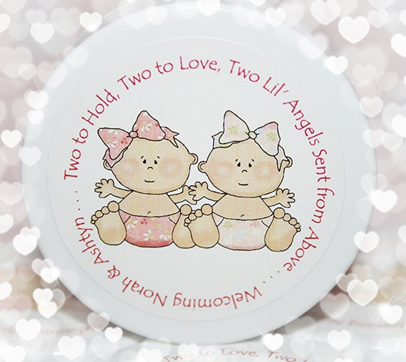 Twin Shower Favors Baby Shower Favors Twins Girls Whipped
