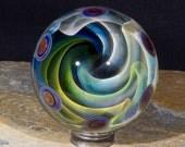 Fumed Wave Vortex 1.75inch borosilicate marble