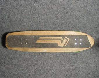 1970s Old School Skateboard With Green Kryptonics Wheels Variflex....Vans...Vision...