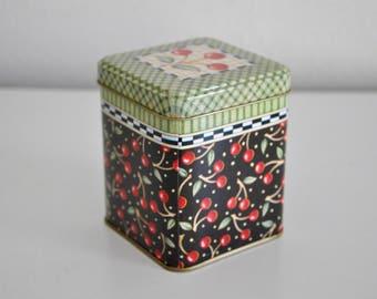 ON SALE Mary Engelbreit Cherries Tin Box