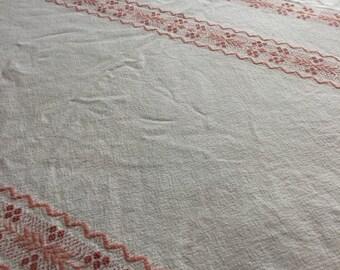 Vintage Round table cloth