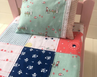 Doll Quilt featuring Natalie Lymer's 'Enchanted', Mini Quilt, Table Top Quilt