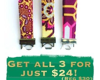 Wristlet Keychains - Wrist Lanyard - Teacher Gifts - Stocking Stuffers