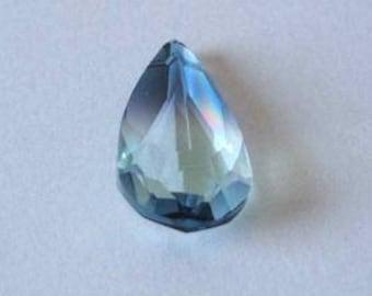 1 SWAROVSKI 6100 Teardrop Pendant Crystal 24mm OCEANBLUE
