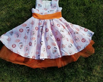 BB8 Themed Dress