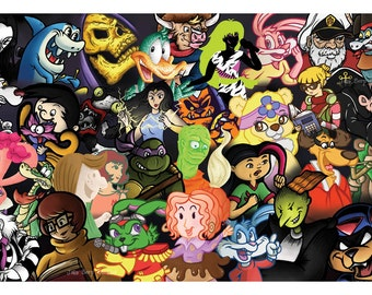 College of Cartoons 11x17 Poster
