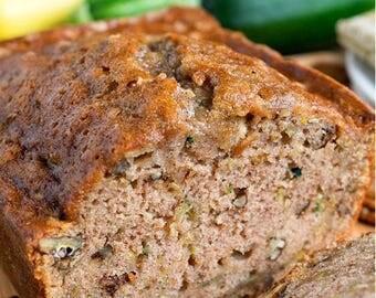 FLAVORFUL Zucchini Bread!