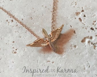 Army Aviation Necklace, Aviation Mom, Helicopter Mom, Army Jewelry, Proud Aviation Mom, Aviation Wings, Army Jewelry, Aviation Necklace