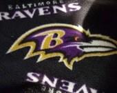 Baltimore Ravens Fleece Tie Blanket