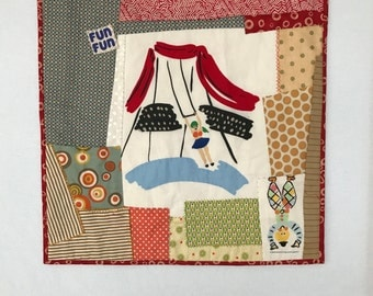 Trapeze Artist: Circus Wall Hanging