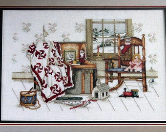 Leisure Arts MEMORIES OF CHRISTMAS Paula Vaughan Cross Stitch Pattern 1990 New