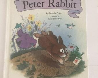 The Adventures of Peter Rabbit by Beatrix Potter.