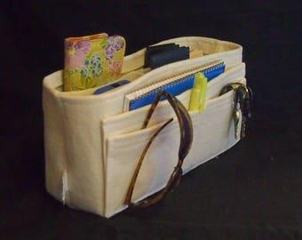 LV Purse organizer \ 12l 6h 3d \ Felt Handbag Organizer \ Hard bottom \ Tabs \ Handbag insert \ Shaper \ Purse Insert