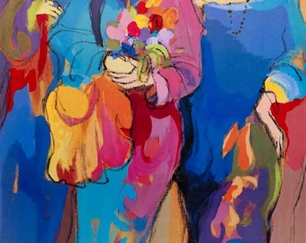 Isaac Maimon-Angels-1992 Poster