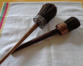Antique Round Tip Paintbrushes