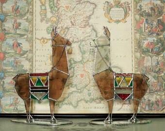 Brown Llama sculpture