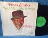 """Vintage, Frank Sinatra / The Midnight Strings - """"Merry Christmas To You"""", Holiday Vinyl LP, Record Album, Traditional, Jingle Bells"""